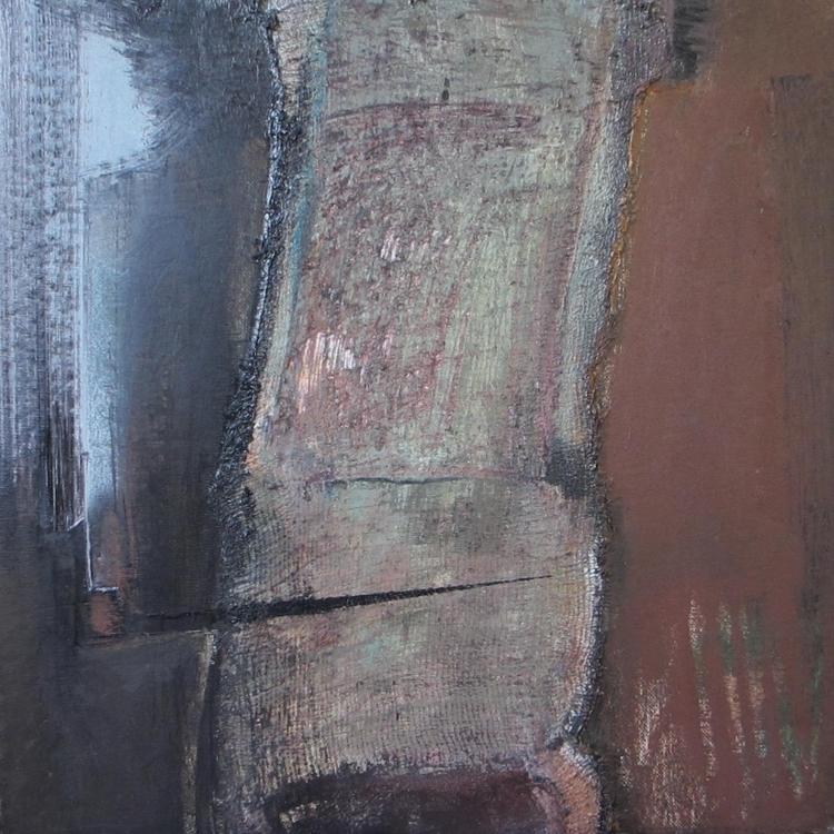 smokes pipe chair - painting - vladimirmishyra | ello