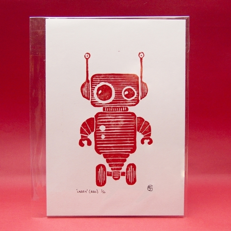 Robot Larry (Limited Edition Li - ajgartanddesign | ello