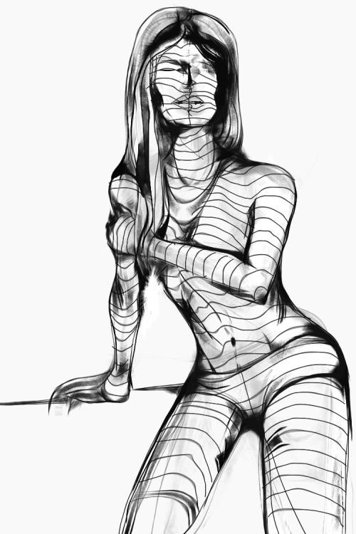 mummy girl - figuredrawing - jeremieduval | ello