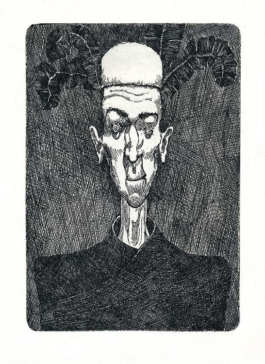 Edgar Allan Poe King Pest - illustration - etash | ello