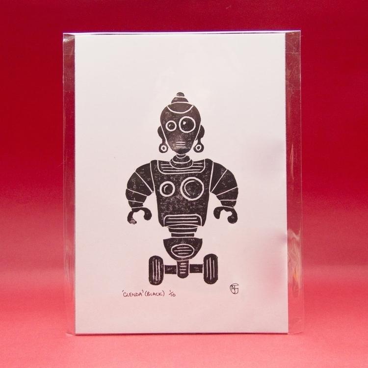 Robot Glenda (Limited Edition L - ajgartanddesign | ello