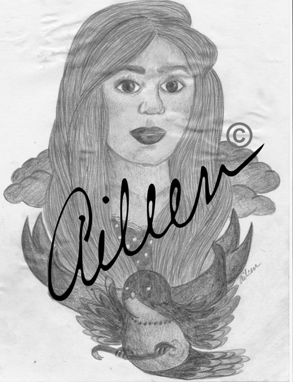 Juliet - graphite, drawing - aileencopyright | ello