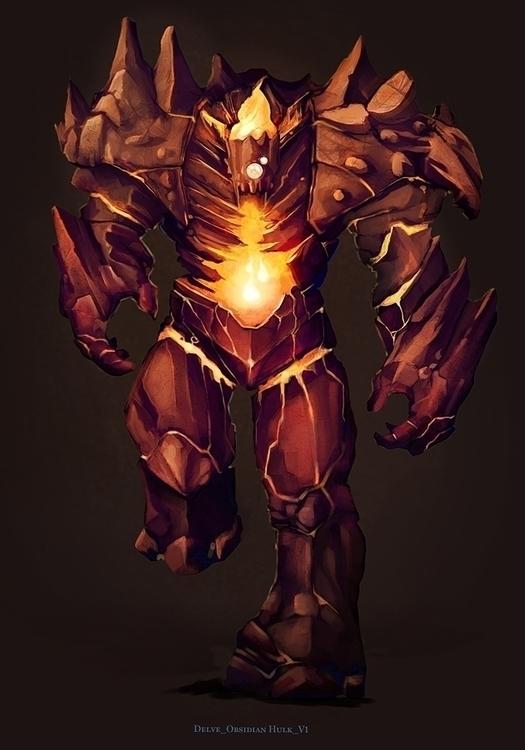 Obsidian Hulk - jporta | ello