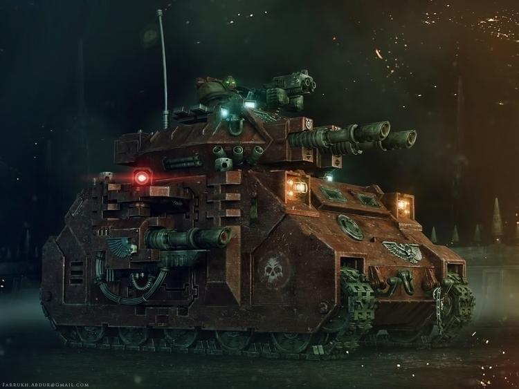 Space Marines Warhammer Predato - farrukh-1236 | ello