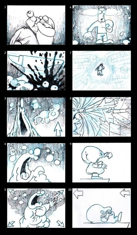 Animated storyboard page - sean-7553 | ello