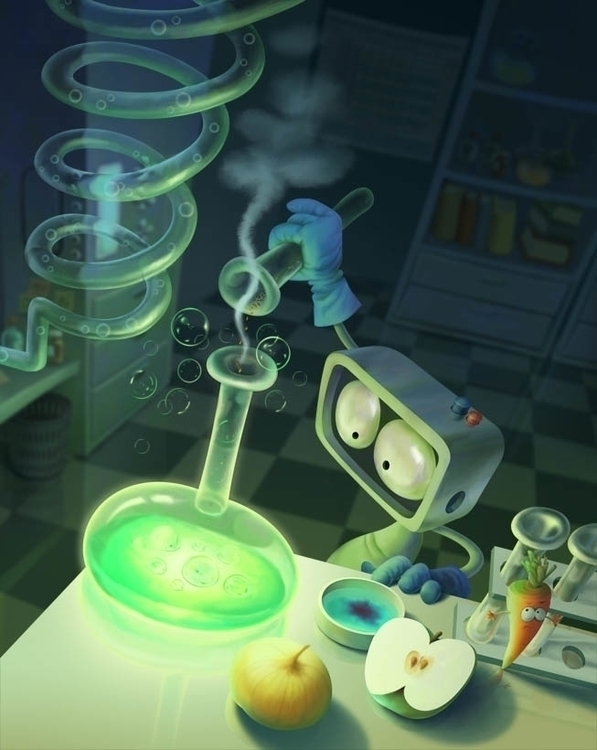 experiment - characterdesign - yustas | ello