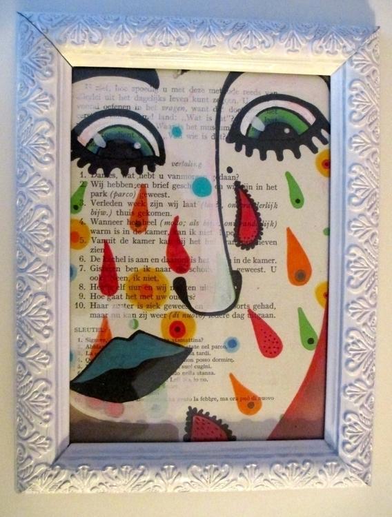 Happy Tears - A5 - happy, valentinesday - shethinksincolors-4810 | ello