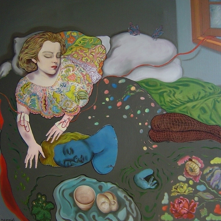 Time - bedroom, womanportrait, flowers - nicolemanieu | ello