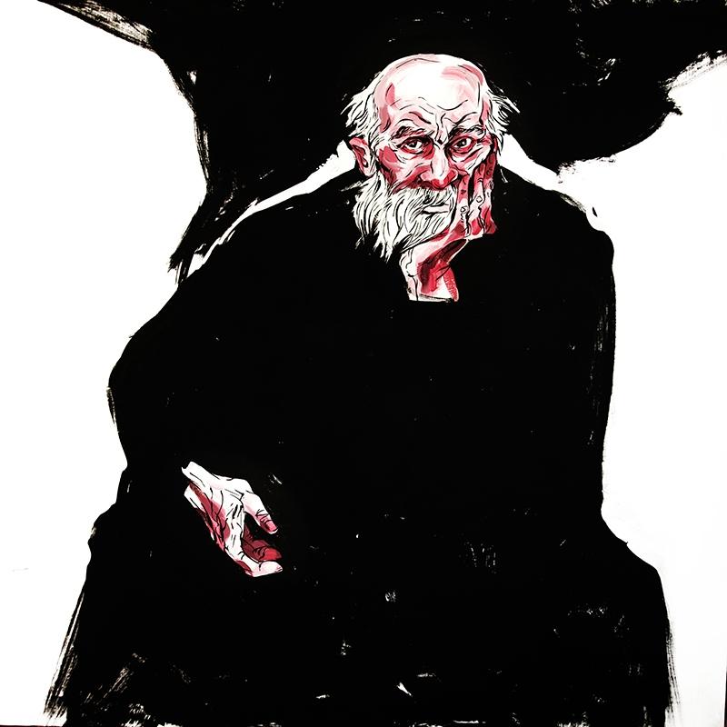 Philosophiam Acrylic Canvas. 39 - miroedova | ello