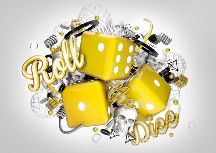 Roll Dice - graphicdesign, digitalart - alvinalif | ello