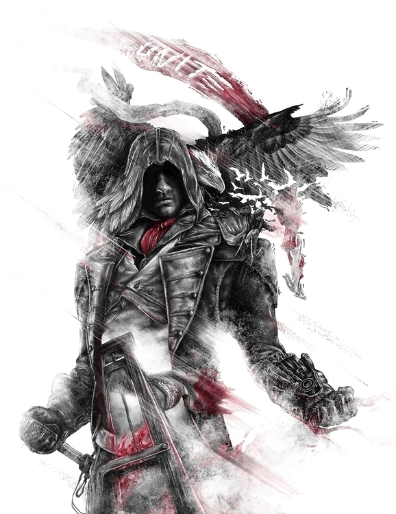 Creed Unity - assassinscreed, drawing - cion-3170 | ello