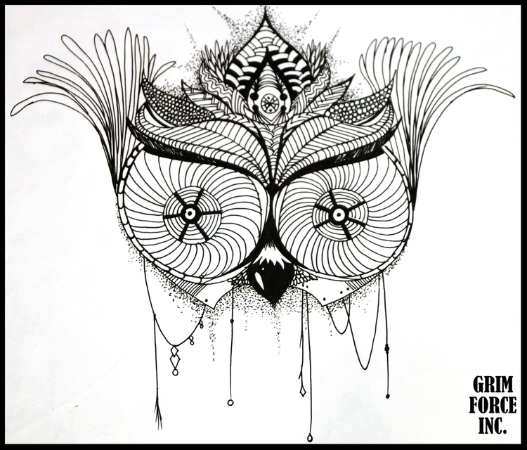 obsession owls gonna hypnotizin - adamaziz | ello