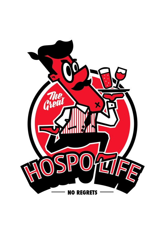 Hospo Life - illustration, characterdesign - hoper420 | ello