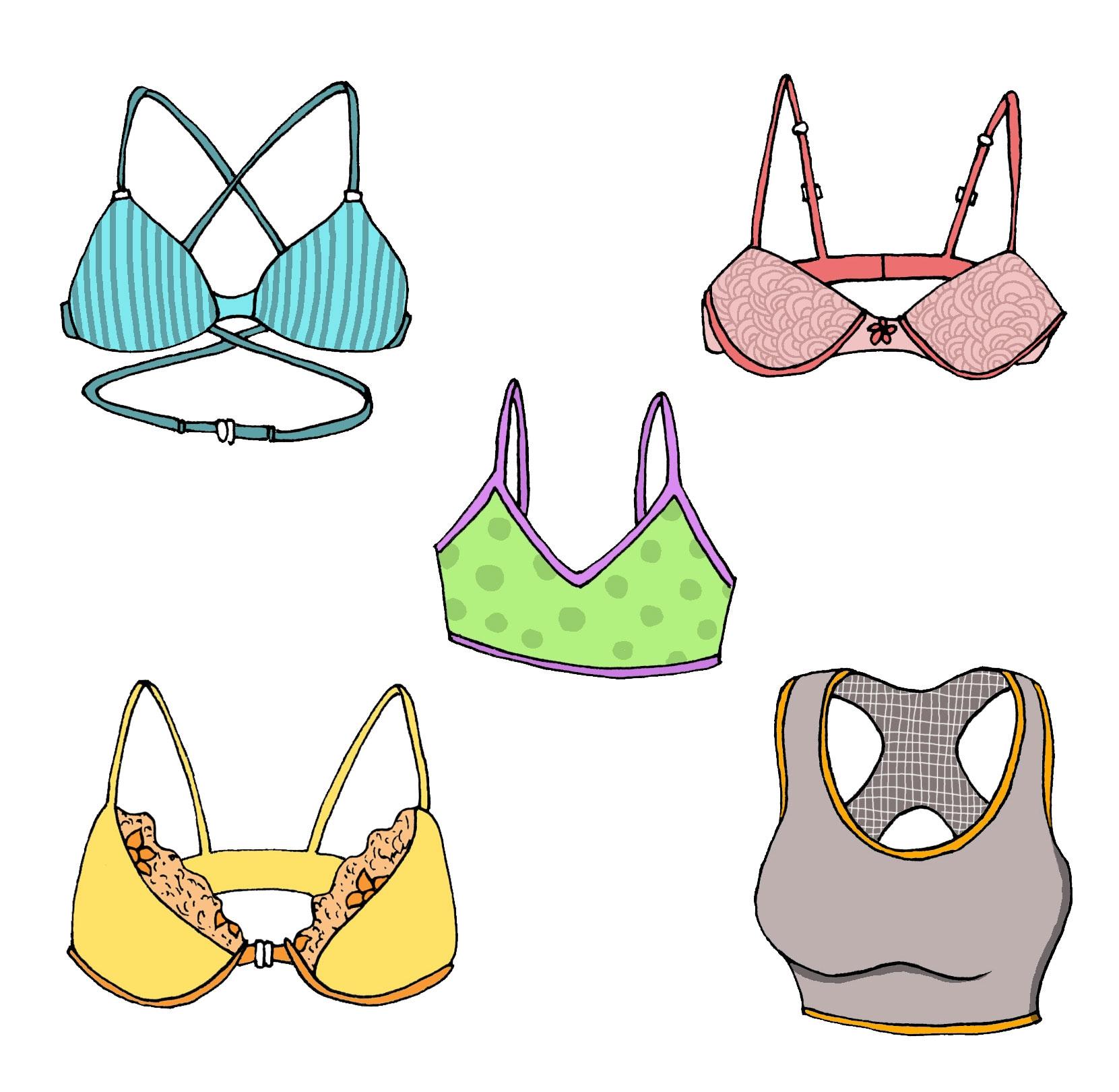 Illustration types bras Braject - deeptisunder | ello