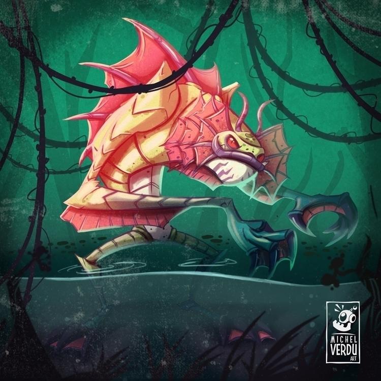 Creature Black Lagoon - creature - michelverdu | ello