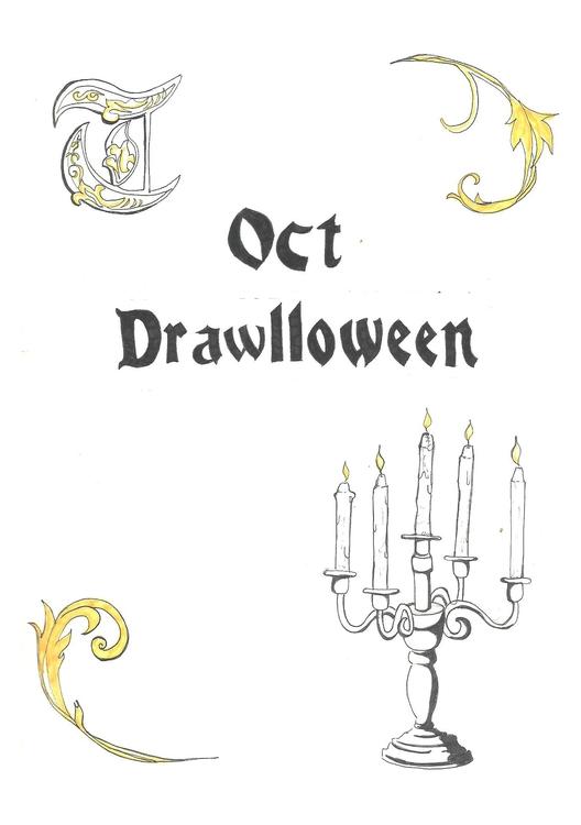 Opening Drawlloween 2015 - illustration - hotshots2000 | ello