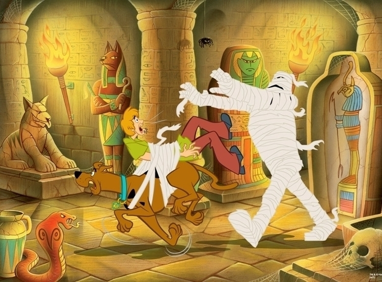 Scooby Doo illustration - scoobydoo - ianrward | ello
