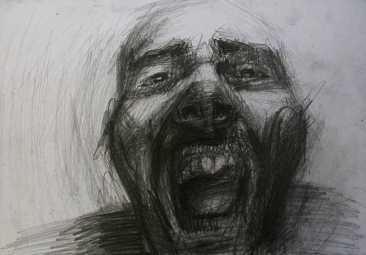 graphite paper; 29,7x42cm; 2012 - ivanmitic | ello