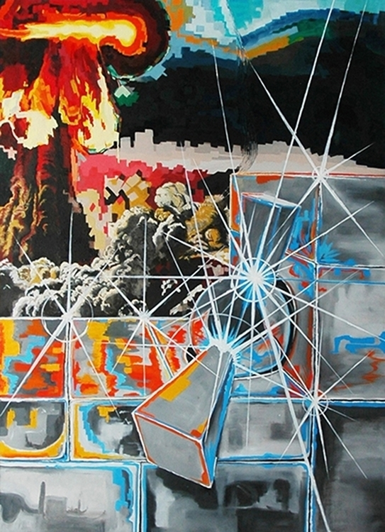 Demon Core - painting, fire - mab-3070 | ello