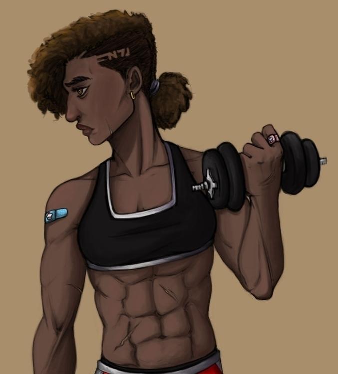 Joanne Shepard War Hero, Spacer - toyhenoctus | ello
