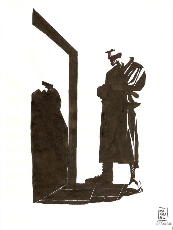 Marv door, Sin short story Sile - miguelcoelho | ello
