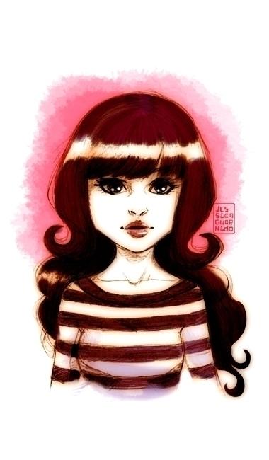 Beautiful Diana teenage Girl - girl - jessicaguarnido | ello