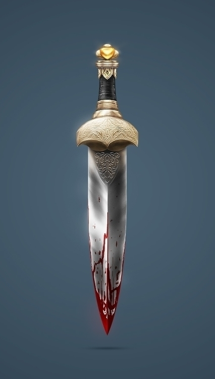 Dagger: Created possibly logo - dagger - devinhansen | ello