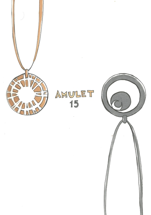 15 Amulet - illustration, drawing - hotshots2000   ello