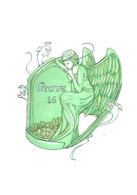 16 Grave - illustration, characterdesign - hotshots2000 | ello