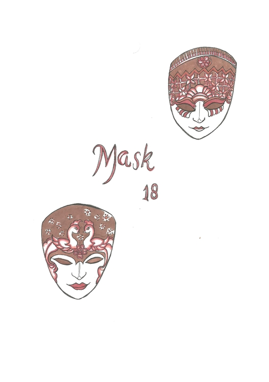 18 Mask - illustration, conceptart - hotshots2000 | ello