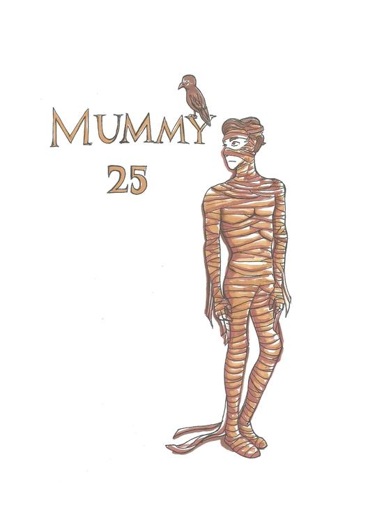 25 Mummy - illustration, characterdesign - hotshots2000 | ello