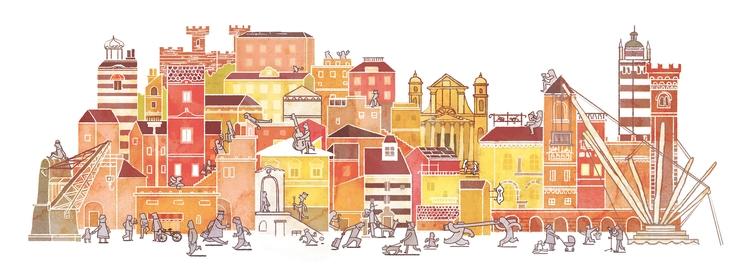 Genoa-Italy - city, citycenter, house - faustomontanari | ello