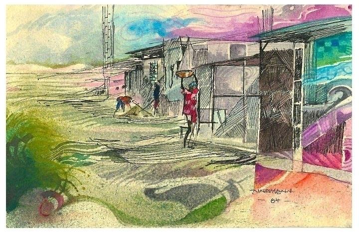 labours - painting - sunnyefemena | ello