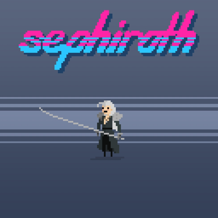 Sephiroth - Final Fantasy VII S - planckpixels   ello