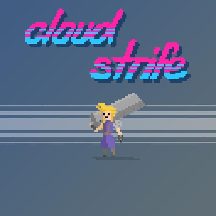 Cloud Strife - Final Fantasy VI - planckpixels | ello