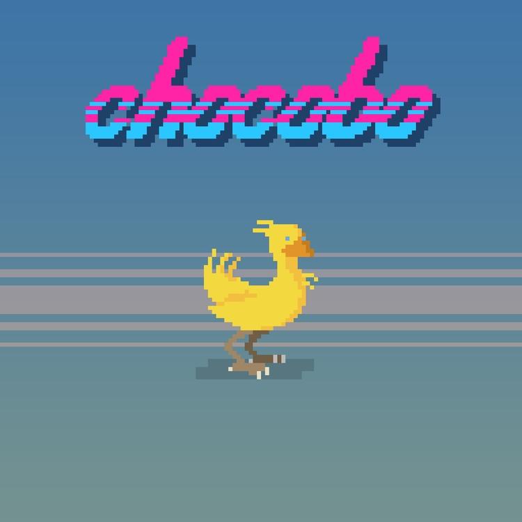 Chocobo - Final Fantasy VII Sup - planckpixels | ello