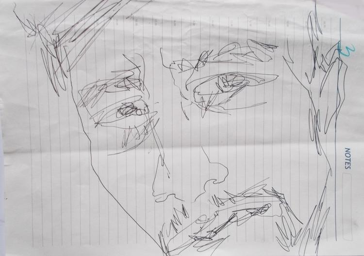 ,,Pogled''; crtež hemijskom olo - ivanmitic | ello