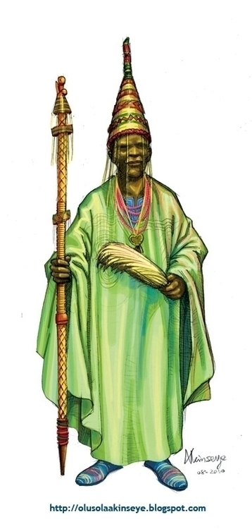 OBA king supreme ruler regarded - shola-5390 | ello