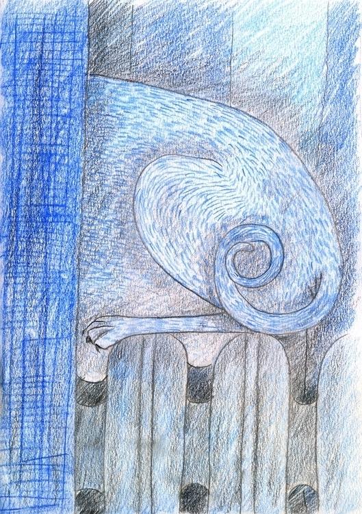 Cat - 1, illustration, comics, story - olga_msk | ello