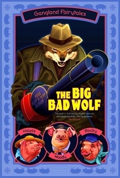 Big Bad Wolf - fairytale, fiction - shola-5390 | ello