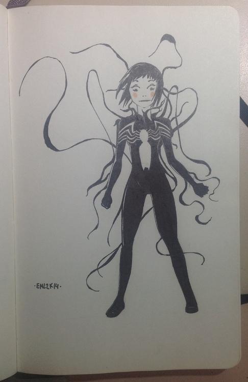 Venom - venom, fanart, sketch, doodle - emarchena | ello