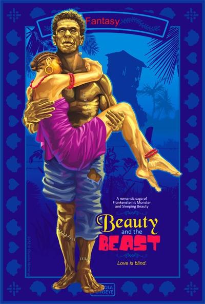 Beauty Beast - fairytale, vectorart - shola-5390 | ello