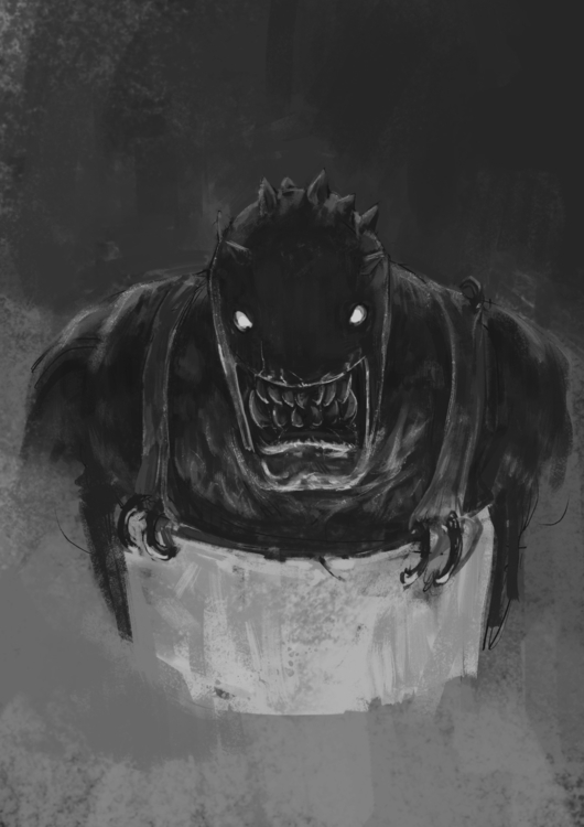 Orc-3 - sketch, conceptart, digitalart - venenose | ello