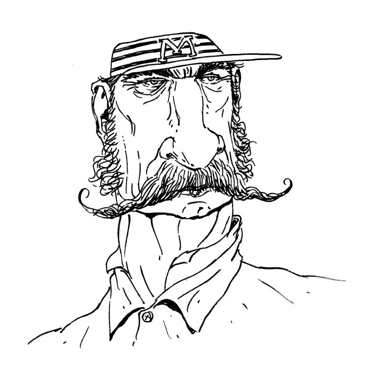 Casey Mudville - illustration, characterdesign - kevinahern | ello
