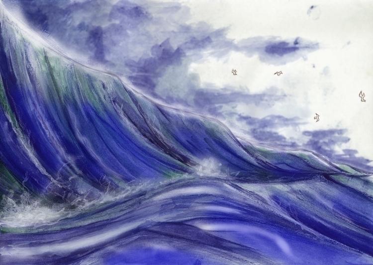 Mar. Imenso, vasto, profundo, f - augustopinho | ello