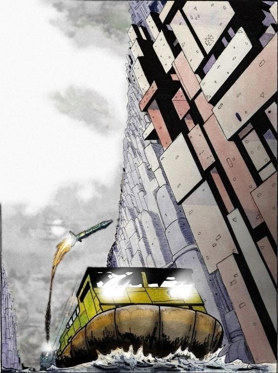 Nova Veneza Venice - handdrawn, illustration - augustopinho | ello