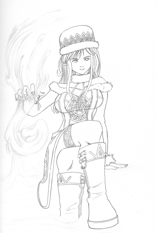 Juvia Fairy Tail - illustration - firsoff | ello