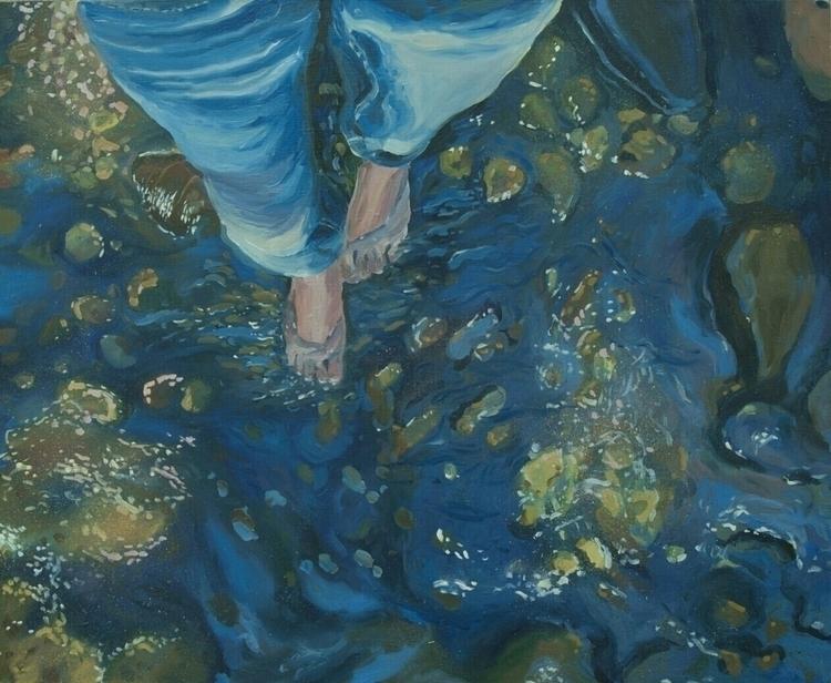 oiloncanvas, oilpainting, legs - vitacalm | ello