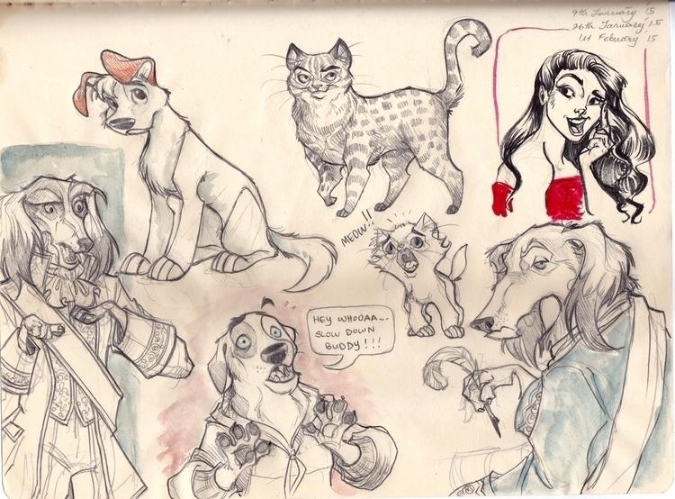 intending draw Dogs suddenly fe - sksk270 | ello