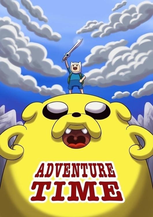 Adventure Time Finn Jake - fanart - brothertico | ello
